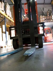 Dakota Electric Association | Electric Forklifts | Image of forklift