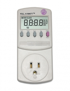 Kill A Watt energy monitor