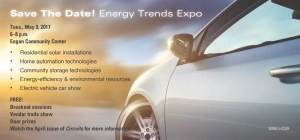 Save the Date! Energy Trends Expo May 9
