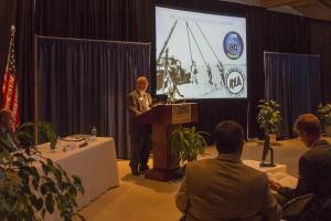 Board vice chair Jerry Pittman talking