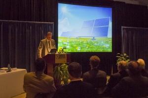 CEO Greg Miller speaking