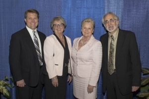 Four re-elected board members.