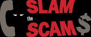 Slam the Scam logo