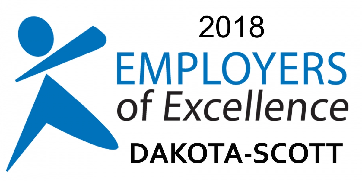 2018 Employer of Excellence Dakota-Scott logo