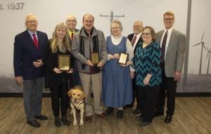 winners with board members