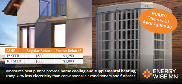 Air source heat pump image ad