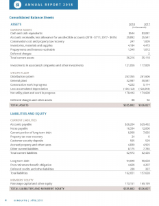 page 4 of financial statements