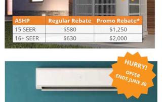 heat pump rebate info