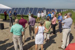 Randolph solar array Mark Rathbun