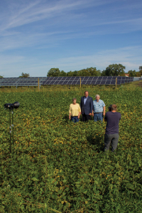Greg Miller and Neilsens solar field