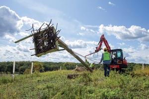 Osprey nest install
