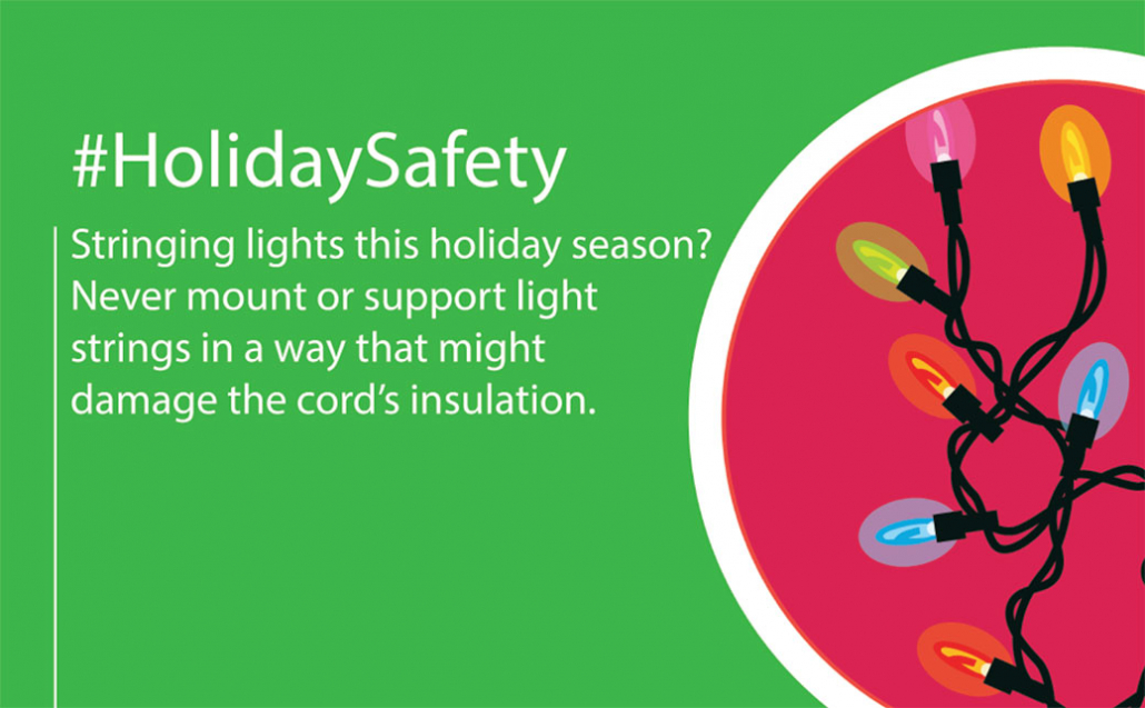 Holiday lighting Safety tip 3