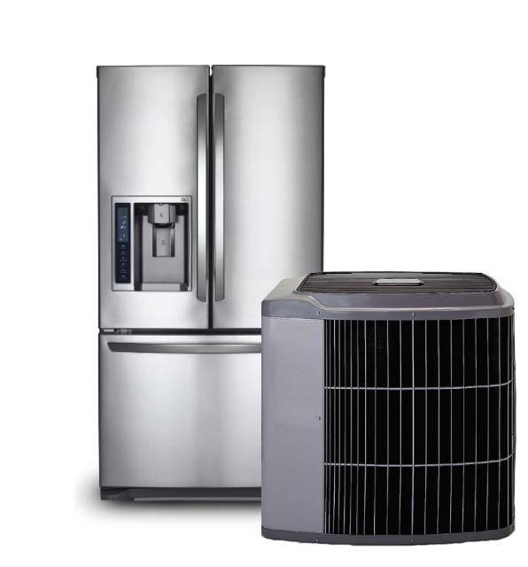 fridge and ac