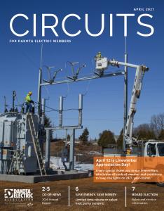 April 2021 Circuits Cover