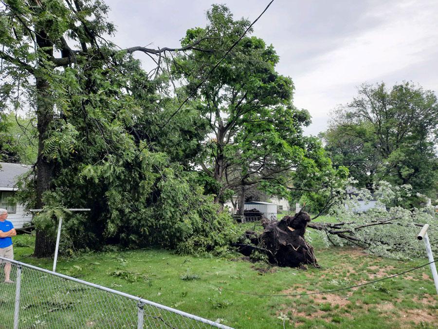 storm damage photo